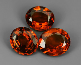 5.95 CTS~EXQUISITE NATURAL UNHEATED RED COLOR HESSONITE GARNET!!