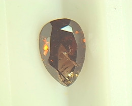 0.58ct  Diamond , 100% Natural Untreated