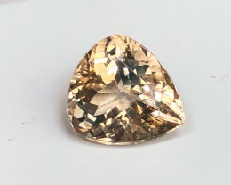8.25 cts Champagne Topaz - No Reserve Auction