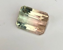 2.50 cts Bicolor Tourmaline - No Reserve Auction