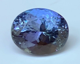 2.93 cts Certified Tanzanite - Loupe Clean - No Reserve!