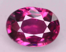 Rarest 1.60 ct Grape Garnet one of a Kind Fire