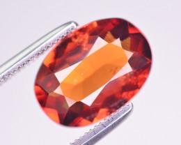 Superb Color 3.05 Ct Natural Hessonite Garnet