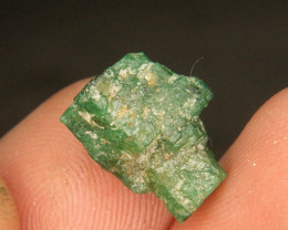 Precious Natural Swat Emerald Scepter For Collector's Gem