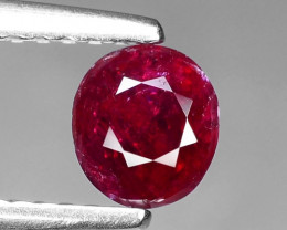 0.78 CT RED RUBY BEST COLOR GEMSTONE RB30