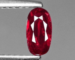 0.48 CT RED RUBY BEST COLOR GEMSTONE RB34