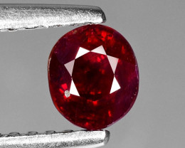 0.71 CT RED RUBY BEST COLOR GEMSTONE RB41