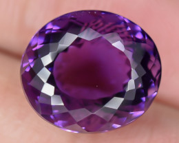 9.85 Crt Amethyst Uruguay Faceted Gemstone (R10)