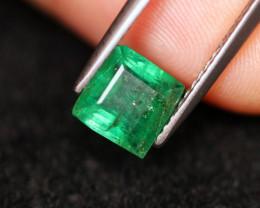 1.27cts Natural  Zambian Green Emerald /06