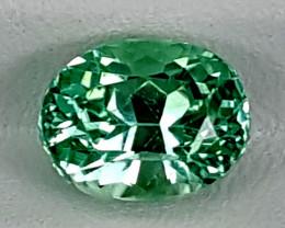 3.75Crt Green Spodumene  Best Grade Gemstones JI145