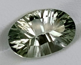 6.50Crt Prasolite  Best Grade Gemstones JI145