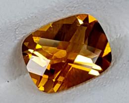 1.60Crt Madeira Citrine  Best Grade Gemstones JI145