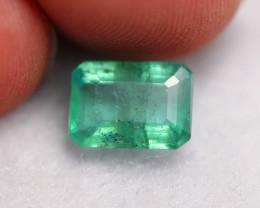 2.34Ct Natural Vivid Green Zambian Emerald ~ B2501