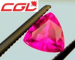 CGL-GRS  Cert. Unheated Perfect Magenta-Purple Sapphire (Kenya)