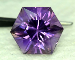 S#31-37 , 19.35 cts Top Cut Fancy Natural Amethyst Gemstone