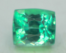 5.30 Ct Green Spodumene Gemstone From Afghanistan