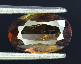 Rare 1.35 ct Multicolor Natural Axinite