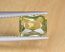 Natural Chrysoberyl 1.87 Cts Faceted Gemstone