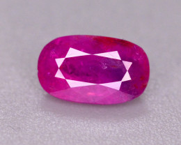 0.65 Ct Superb Color Natural ruby From Afghanistan. ARA