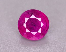0.65 Ct Amazing Color Natural Ruby From Afghanistan. ARA