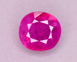0.50 Ct Gorgeous Color Natural Ruby From Afghanistan. ARA