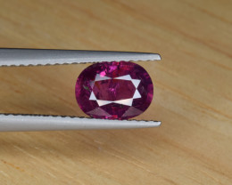 Natural Ruby 1.27 Cts from Kashmir, Pakistan