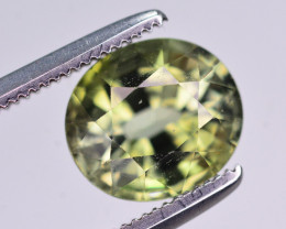 Top Quality 2.10 Ct Natural Yellowish Green Tourmaline