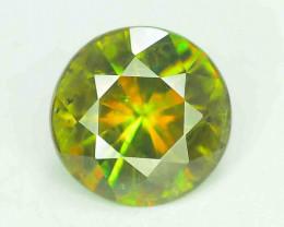 AAA Color 1.35 ct Chrome Sphene from Himalayan Range Skardu Pakistan
