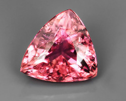 3.05 CTS BEAUTIFULL RARE NATURAL PINK TOURMALINE TRILLION MOZAMBIQUE!!