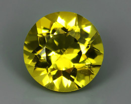1.70 Cts - Sparkling Luster - Round Gem - Natural Fine Yellow Bery NR!!