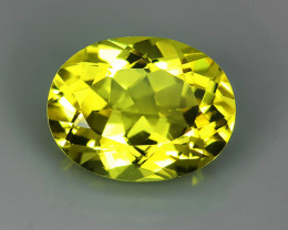 1.90 CTS.REMARKABLE! OVAL FACET GOLDEN BERYL NATURAL NR!