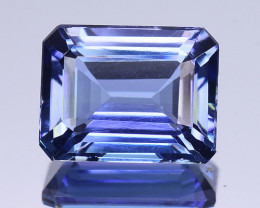 2.71 Cts Tanzanite Faceted Gemstone Awesome Color & Cut - TZ3