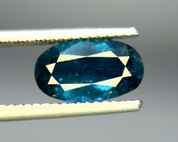 2.95  Carats Top Quality Natural Indicolite Tourmaline ~ Afghanistan