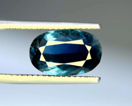 3.60 Carats Top Quality Natural Indicolite Tourmaline ~ Afghanistan