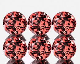 6 piece Jewellery Grade ZIRCON gems 4.00mm each VVS