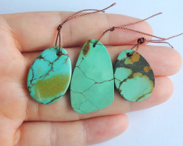 Hand made turquoise pendants ,turquoise necklaces ,wholesale  B147