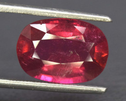 S#31-81 , 4.5 cts Natural Rubelite Tourmaline Gemstone