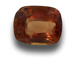 Natural Unheated Orange Sapphire |Loose Gemstone