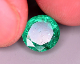 Certified 2.70 CT Superb Color Natural Emerald From Panjsher