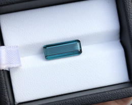2.65 Ct Natural Blue Indicolite Flawless Tourmaline Gemstone