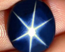 6.52 Carat Thailand Blue Star Sapphire - Gorgeous