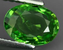~EXCELLENT NATURAL EARTH MINED HUGE TOP GREEN TSAVORITE GARNET~