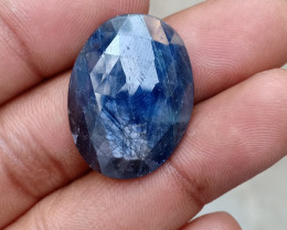 BLUE SAPPHIRE ROSE CUT GEMSTONE Natural+Untreated VA2707
