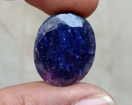 BIG NATURAL BLUE SAPPHIRE GEMSTONE Natural treated gem VA2711