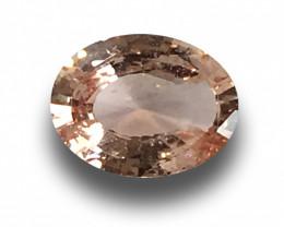 Natural Unheated Pinkish Orange Sapphire |Loose Gemstone