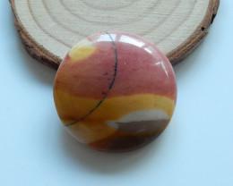 62cts Mookite Jasper Cabochon, Birthstone,Healing Stone  B301