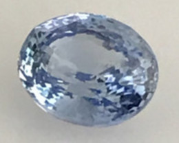 CERTIFIED Luminous Unheated 1.04 ct  Blue Sapphire - Sri Lanka H618