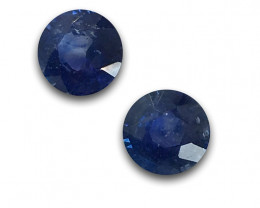 Natural Blue Sapphire Pair|Loose Gemstone|New| Sri Lanka