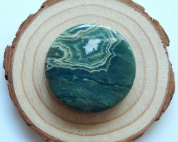 Beautiful Ocean Jasper  Round Gemstone Cabochons Designer Making B309