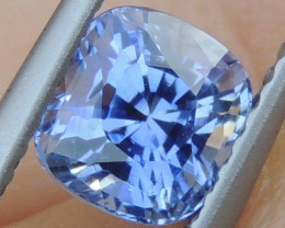 1.47cts No Heat, Certified  Sapphire, Top Cut